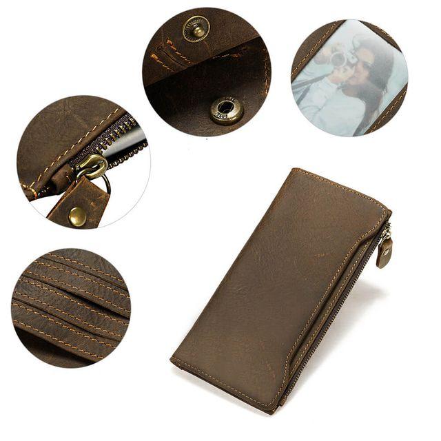Những đường nét sang trọng của ví cầm tay nam D833A