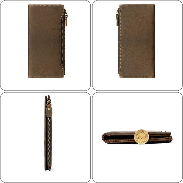 Các kiểu form dáng của ví cầm tay nam D833A