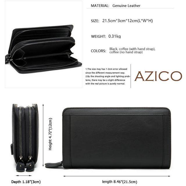 Kích thước của ví cầm tay nam D841