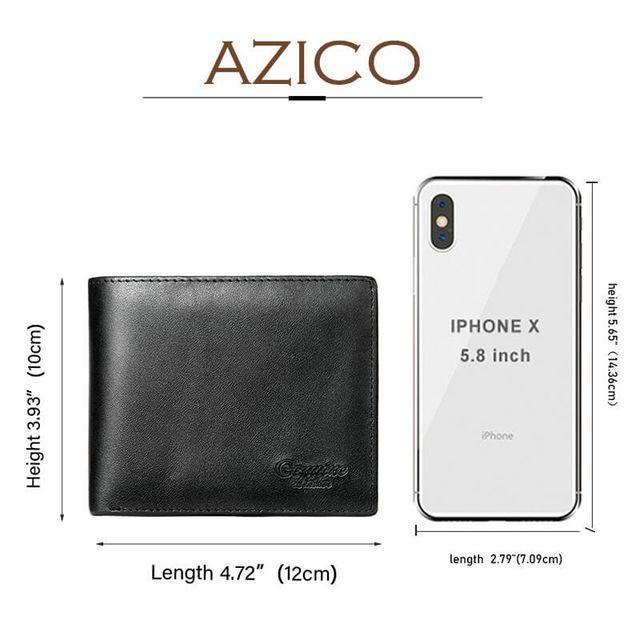 Kích thước của mẫu ví ngang so với điện thoại