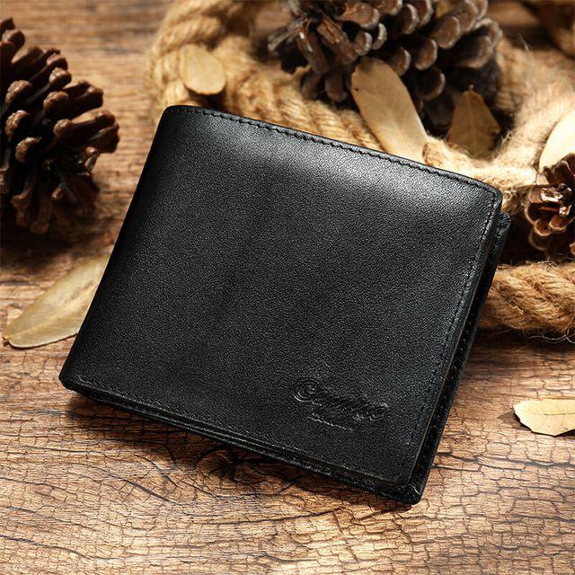 Mẫu ví màu đen D036