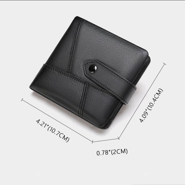 Kích thước của ví da nam D613A
