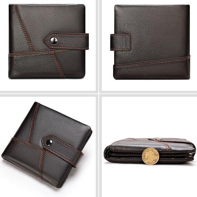 Những kiểu dáng của mẫu ví nam D613B