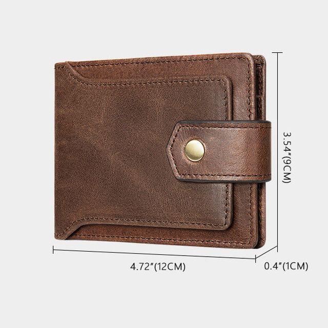 Kích thước của ví nam D355
