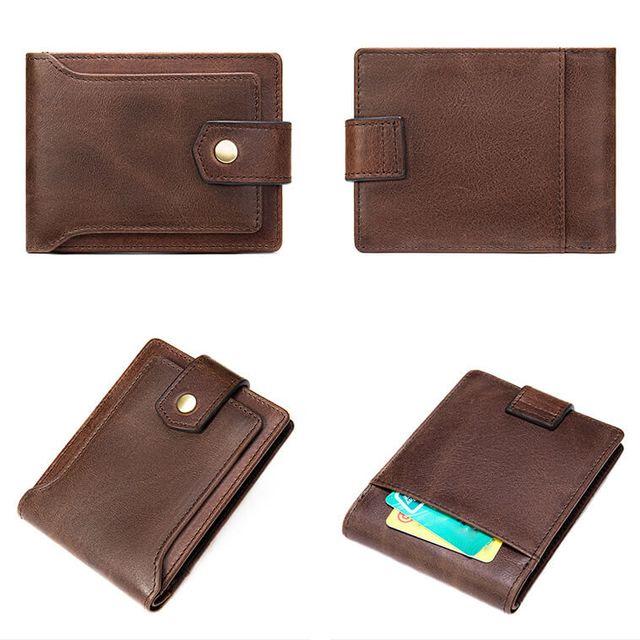 Các kiểu dáng của ví da bò D355