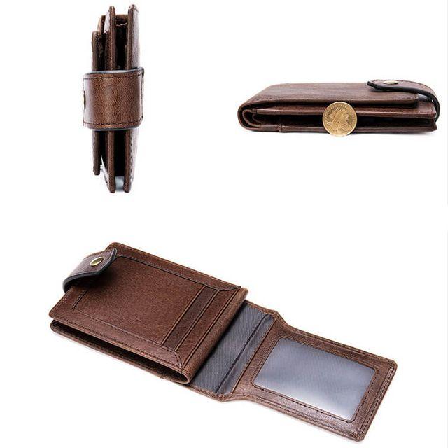 Những kiểu dáng nhỏ gọn của ví da nam D355