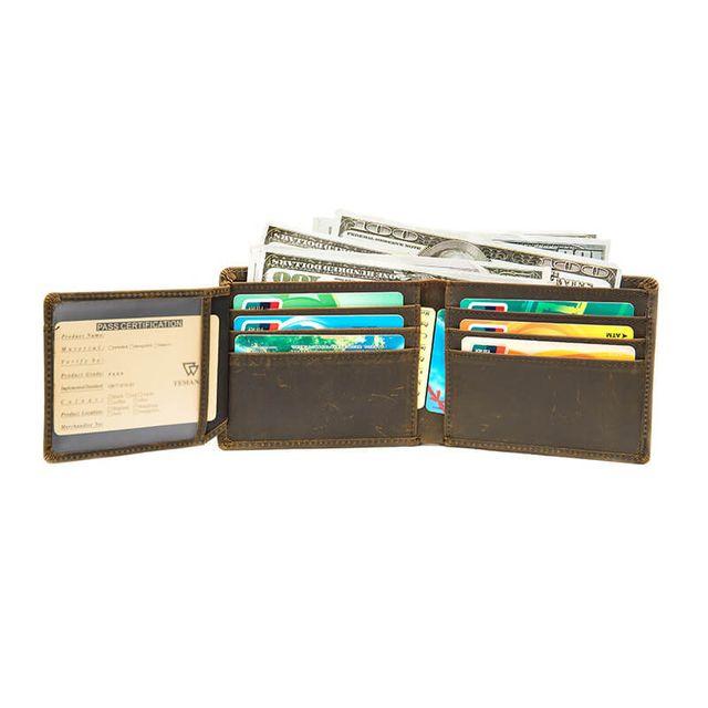 Bên trong của ví ngang D686