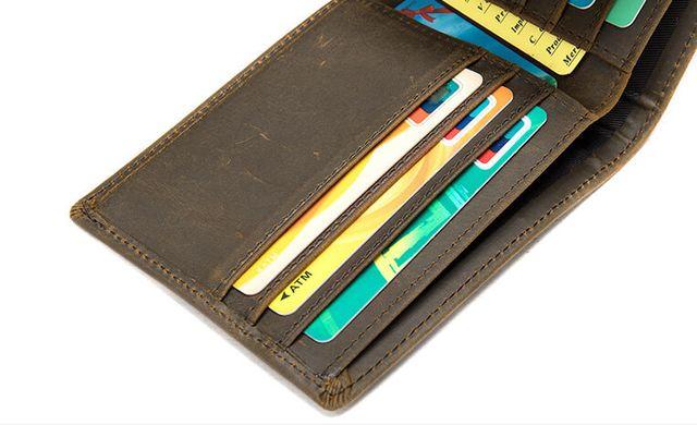 Mặt trong của mẫu ví da nam D686
