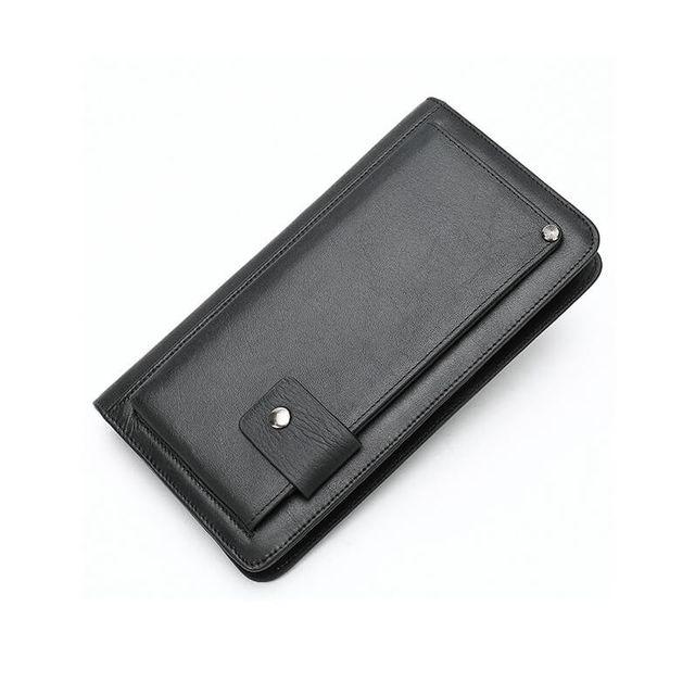 Mặt chéo của  ví cầm tay nam D337A