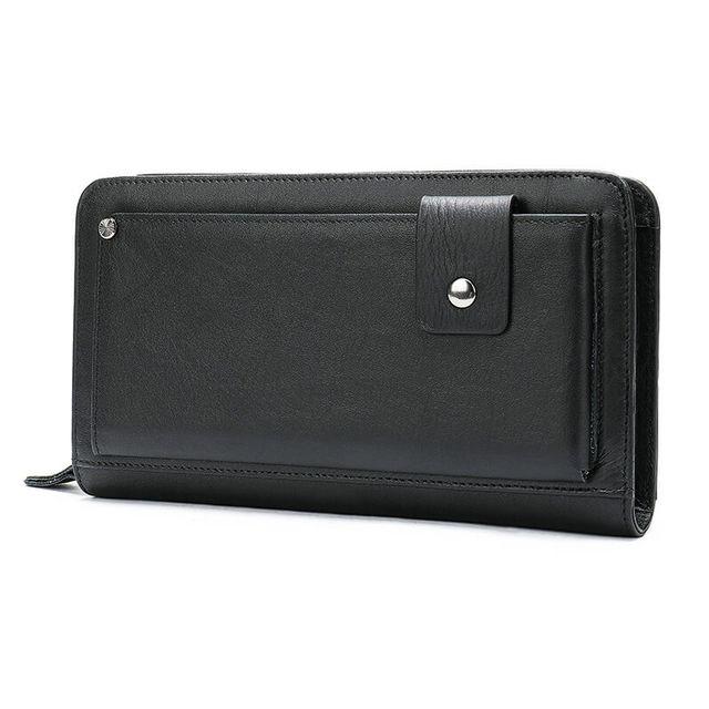 Mặt nghiêng của ví cầm tay nam D337A