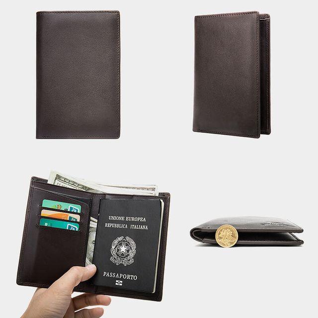 Kiểu dáng mẫu ví nam Passport D905B